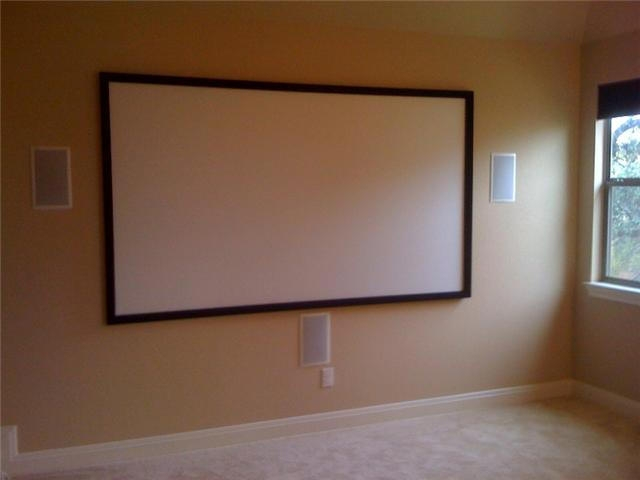 Media Room Projection installation