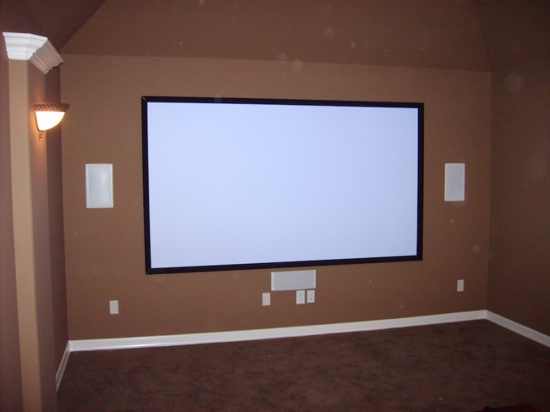 Media Room Installation - Westlake