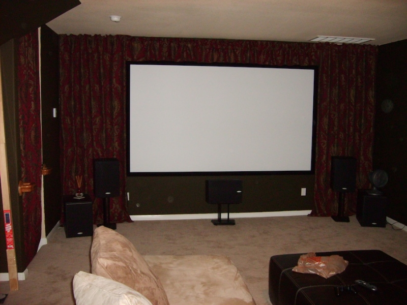 Media Room Installation - Pflugerville
