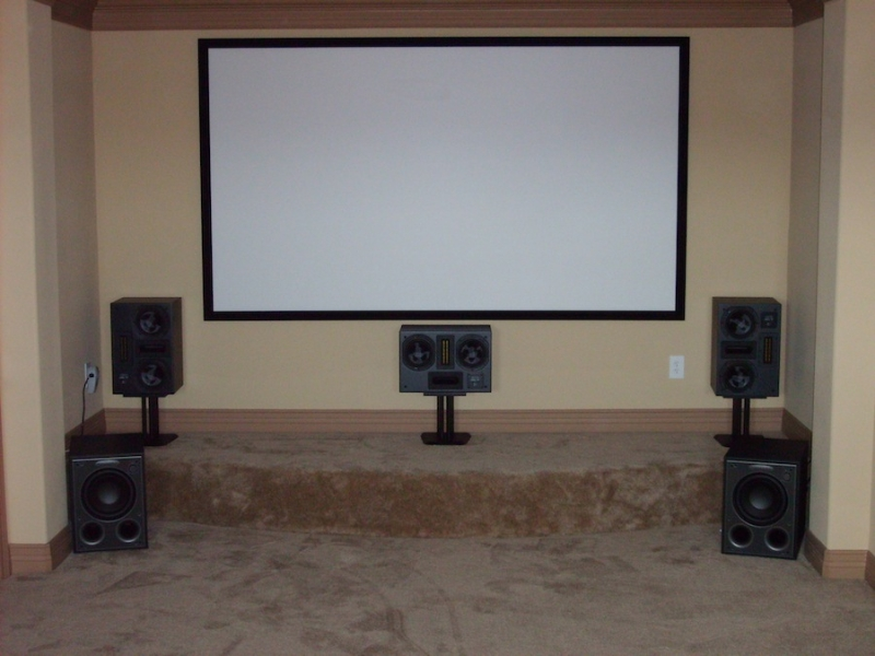 Media Room Installation - Round Rock