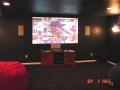 Media Room Projector installation
