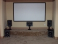 Media Room Installation - Round Rock