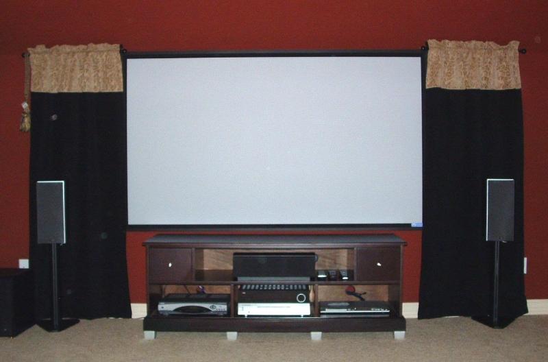 Media Room Installation - Austin